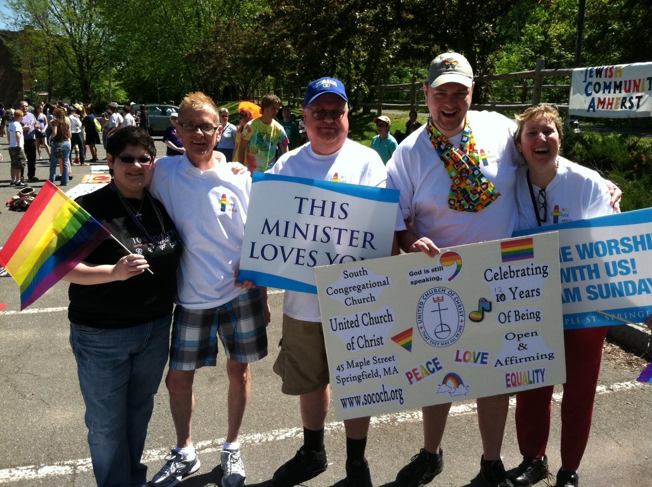 Pride Marchers